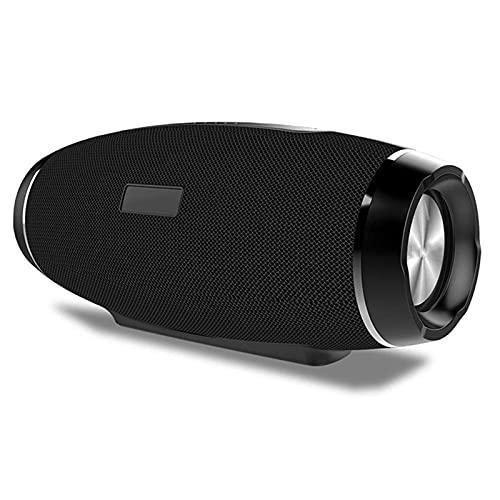 QCHEA Altavoz inalámbrico Bluetooth Tarjeta de fútbol Subwoofer Aire Libre Impermeable Tela portátil Audio