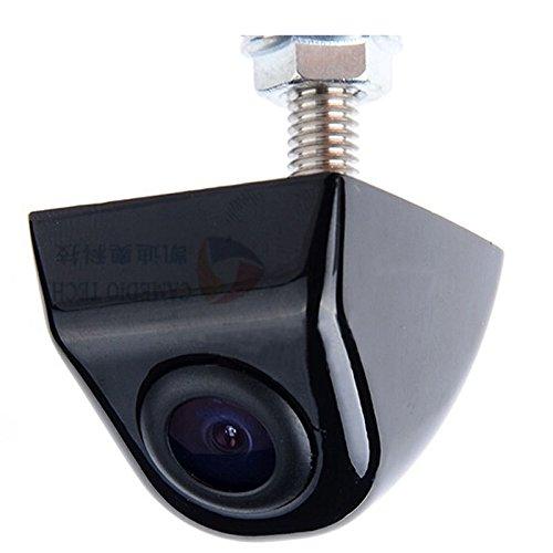YMPA Rückfahrkamera Kamera Unterbau mit Gewinde Farbe schwarz mit 6 Meter Kabel für Monitor Auto KFZ PKW Wohnmobil Transporter klein vorne hinten Spiegelung 170 180 RFK-KUB170