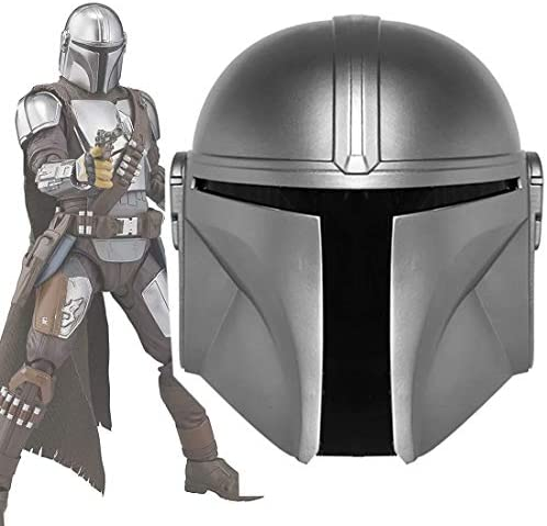 Mandalorian Helmet with Electronic Voice Changer Metal PVC Boba Fett Full Head Mask Deluxe Helmet product image