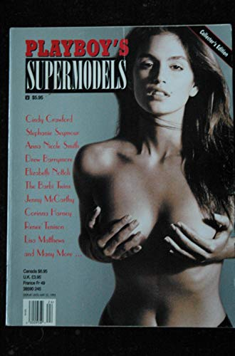 PLAYBOY'S SUPERMODELS 1995 03 Cindy CRAWFORD Stéphanie SEYMOUR Anna Nicole SMITH ... INTEGRAL NUDE HOT
