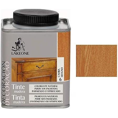 Lakeone 50101/1/4L.06 Tinte para La Madera, Caoba, 250 ml ...