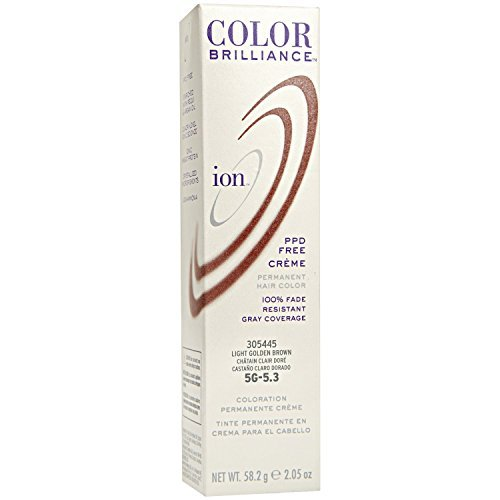 Ion Color Brilliance Permanent Creme 5G Light Golden Brown by ION HAIRCOLOR