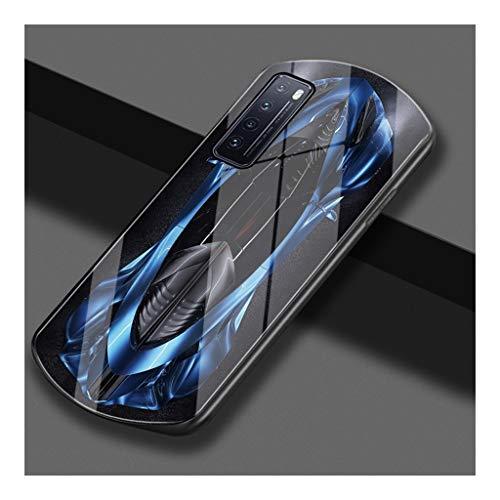 JLZS For Huawei P40 P40 Pro Teléfono móvil Caja Curvada ensanchado en Ambos Extremos de la Suciedad Resistente Resistente a la caída de Huawei P30 P30 Pro Chaqueta de teléfono móvil