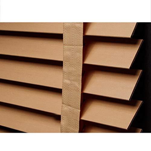 YONG FEI Rollos, Holzjalousien, Verdunkelungsrollos, Schlafzimmer Arbeitszimmer, Wohnzimmer, Hebe Vorhänge, Lochen freie Größen können individuell angepasst Werden Bambusjalousien Und -Vorhänge