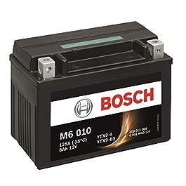 Bosch Automotive 0092M60100 Batterie Moto M6010 Agm 8A/H135A, 12V
