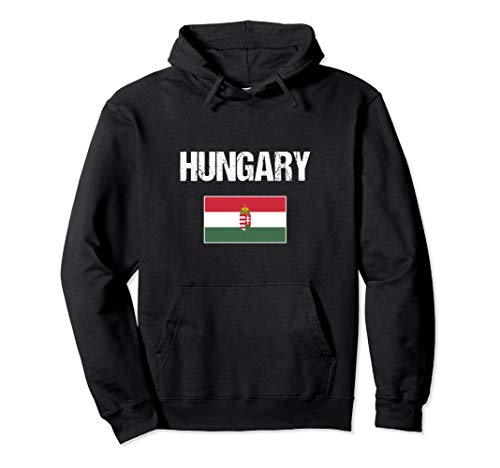 Hungary Ungarisches Souvenir | Ungarn Flagge Pullover Hoodie