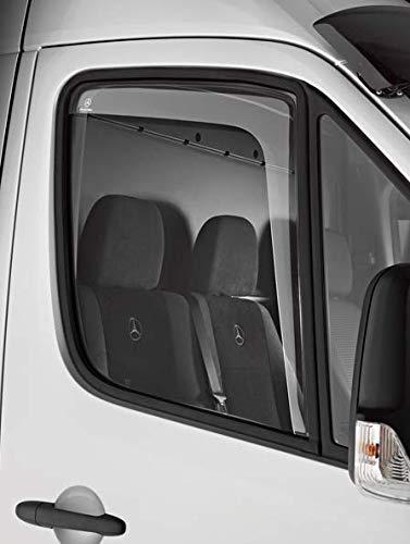 Mercedes Benz Original Paar Fenster Windabweiser Acryl Getönt BM C 906 Sprinter 2. Generation - Bus, Kasten und Pritsche Baujahr: ab 04/2006 bis 05/2018