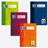 Oxford 384603253/100050398 Vokabelheft DIN A6, zweispaltig, 90 g/qm, 32 Blatt (Farbe: Sortiert)