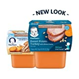 Gerber 2nd Foods Nutritious Dinners Sweet Potato & Turkey with Whole Grains Baby Food (Pack of 2)