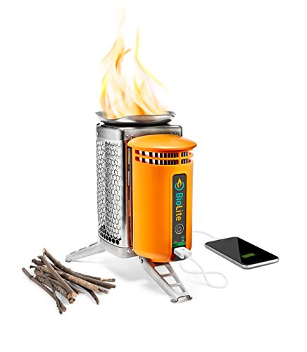 BioLite Campstove 2 Wood Burning Electricity Generating & USB Charging Camp...