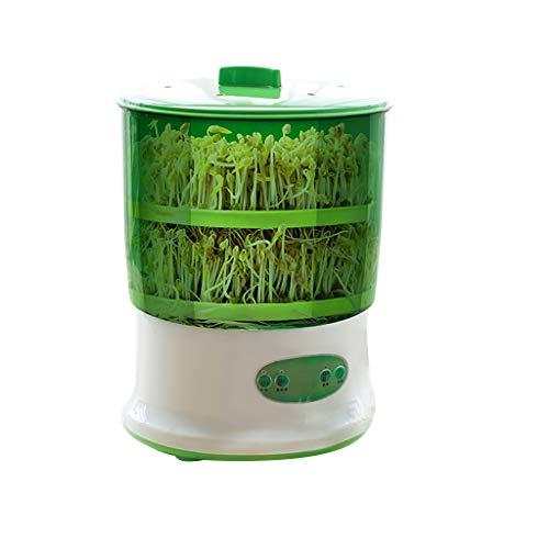HINK Machine de Germination Machine à germer Automatique Kit de Germination 3 Couches de microgreens Grande capacité 110V Maison et Jardin Cuisine , Salle à Manger et Bar