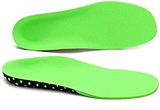 Plantar Fasciitis Arch Supports Feet Insoles Shock-absorptation Breathable Insole Orthotics Gel Sports Comfort Shoes Insole Neutral Arch Replacement Shoe Insole/Insert (Lv, US Men(10-12.5))