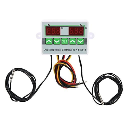 Controlador de Temperatura St3012 Controladores de Termostato Digital Pantalla Microordenador Interruptor de Control Inteligente Voltaje de Fuente de Alimentación 12vdc / 120w