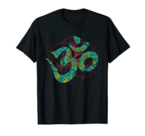 Psychedelisches Goa Om T-Shirt