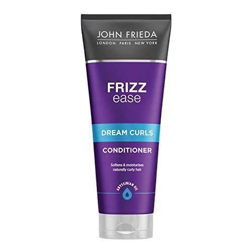 John Frieda Frizz Ease Traumlocken Spülung/Conditioner - 1er Pack (1 x 250 ml) - definiert und verstärkt Locken - für widerspenstiges Haar