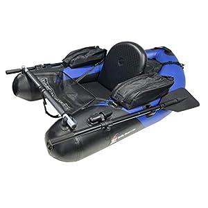 Fertiges Belly Boot mit Paddel und Taschen 160 cm