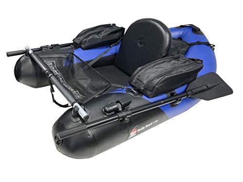 Fertiges Belly Boot mit Paddel und Taschen kaufen