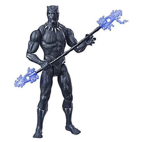Hasbro Marvel Avengers - Black Panther Action Figure, 15 cm con Accessorio Incluso, basata sul film Endgame, E3931ES0