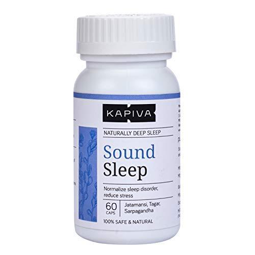 Kapiva 100% Herbal Sound Sleep Capsules Helps...