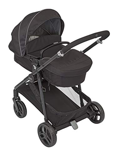 Graco Transform 2-in-1 Pushchair/Stroller (Birth to 4 Years Approx, 0-22 kg), Converts from Pramette to Pushchair, Black Graco Suitable from birth to approx. 4 years (22kg) Convertible pramette to pushchair in a flash. includes a comfy soft new-born liner for the first journey Click connect travel system compatible with graco snug ride/snug essentials i-size infant car seats 1