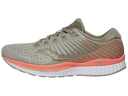 Saucony womens Guide 13 Guide 13 Beige Size: 3.5 UK