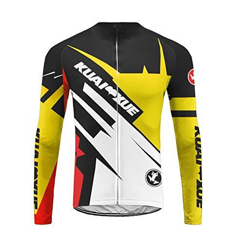 Uglyfrog 2019 Autunno Nuovo Maglia Ciclismo Boby Manica Lunga da MTB per Uomo CXML01