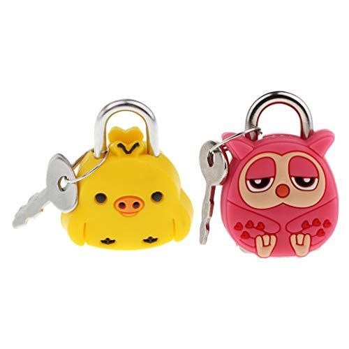 Baoblaze Handcrafted Padlock Key for Suitcase Case And Tiny Metal Padlocks
