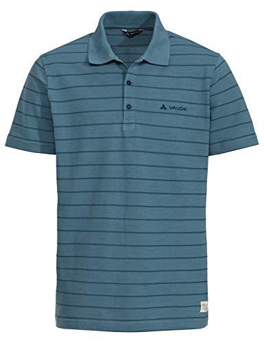 VAUDE Herren T-shirt Men's Labisco Polo, Poloshirt, blue gray, 52, 413499815400