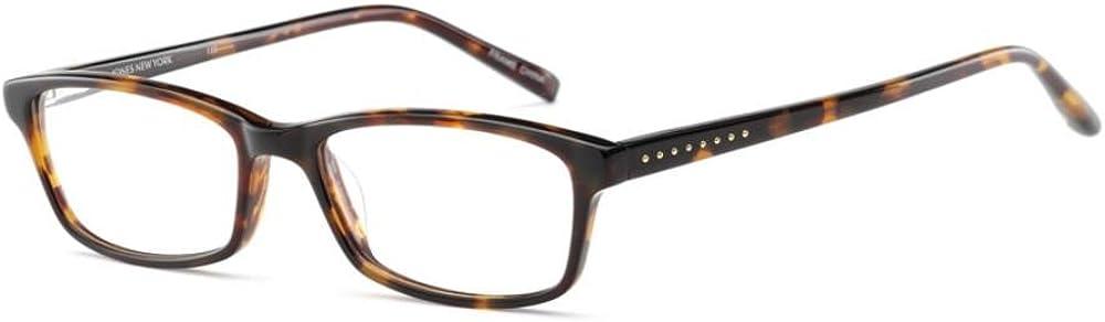 JONES NEW NEW before selling YORK Recommendation Eyeglasses J211 Tortoise 49MM