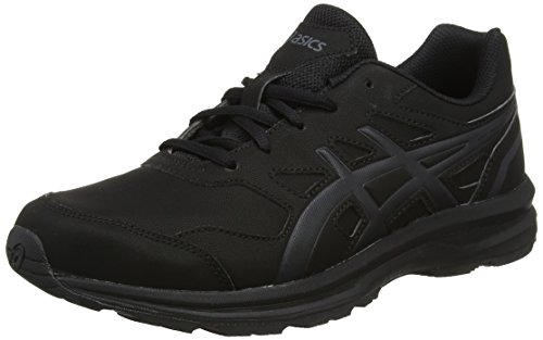 ASICS Herren Gel-Mission 3 Walkingschuhe, Schwarz (Blackcarbonphantom 9097), 44 EU