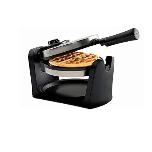 Sdesign Grill, sándwich y Waffle Fabricante con Control no Palo, Control automático de Temperatura, Aluminio, Controlador de Gallo Giratorio de 180 ° Control de Temperatura de precisión