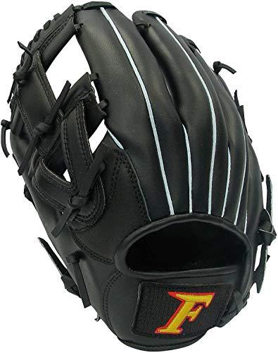 サクライ貿易(SAKURAI) FALCON(ファルコン) 野球 少年ソフトボール グラブ(グローブ) 左利き用 オールラウンド用 FGS-215(N21) ブラック 24cm,21cm,17cm