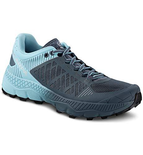 Scarpa SPIN Ultra GTX WMN, Zapatillas de Trail Running Mujer, Lilac-Navy ARS6 Velox MAX LB, 41 EU