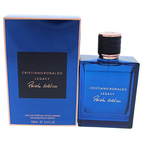 Cristiano Ronaldo - Legacy Private Edition - Eau de Parfum - Spray for Men - Oriental Woody Fragrance - 3.4 oz