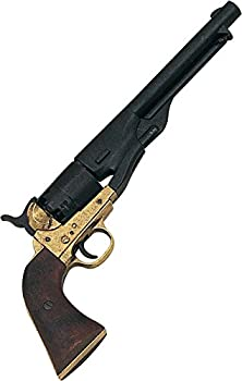 Denix M1861 Navy Issue Brass Revolver - Non-Firing Replica