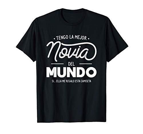 Hombre Encantadora Idea De Regalo De Novia Para Un Novio Camiseta