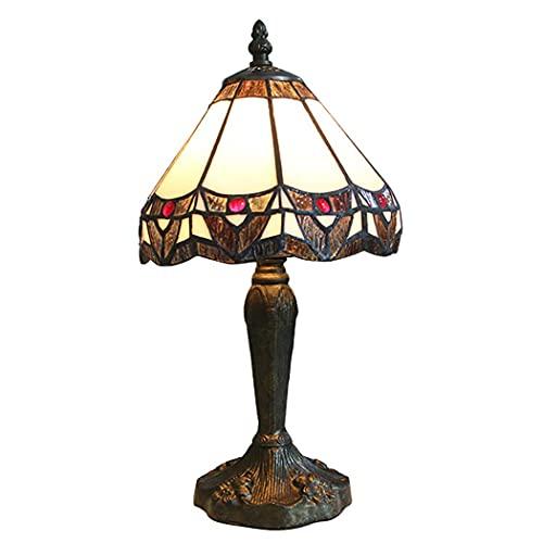 WECDS-E Lámpara de escritorioLámpara de Escritorio, mesita de Noche con atenuación, lámpara de Escritorio para Sala de Estar, habitación de niños E27, Interruptor de botón