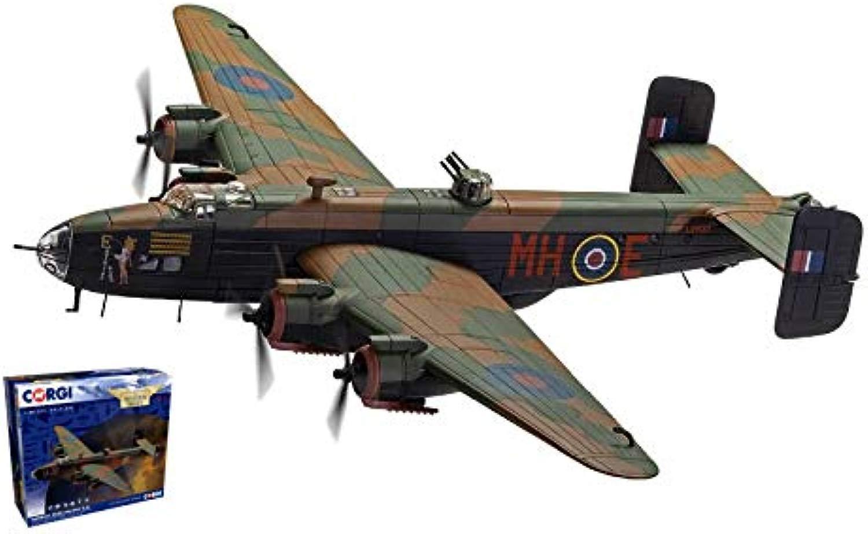 HeLEY PAGE HALIFAX B.III-LV937 MH-E RAF N.51 SQUADRON MARCH 1945 1 72 - Corgi - Aerei