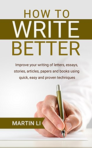 Books To Help Improve Essay Writing