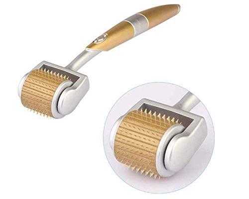 YYM Professioneller DR-Stift, Dermasonic ZGTS Titan Derma Roller 192 Nadeln für die Gesichtspflege und das Haarausfall-Schönheitswerkzeug (0,5 mm)