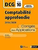 Comptabilité approfondie - DCG 10 - Corrigés des Applications (10)