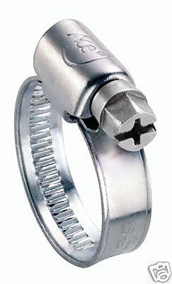 Clarik Ace 3 Clips à flexible en acier doux 50 à 70 mm-Lot de 10