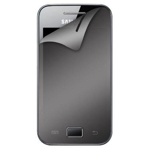 Blueway PECRANSMS5830BW - Protectores de pantalla para Samsung Galaxy Ace S5830 (2 unidades), transparente y espejo