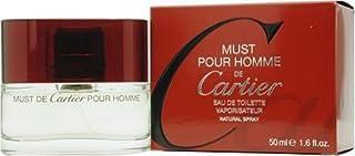Must De Cartier By Cartier For Men, Eau De Toilette Spray, 3.4-Ounce Bottle