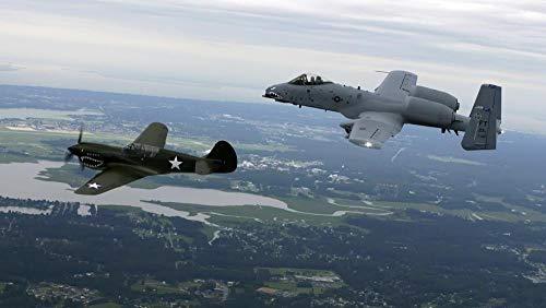 Zxdcd Puzzles für Kinder Erwachsene 2567 Stück Gebäude-Curtiss-P-40-Warhawk-Fairchild-Republik-A-10-Thunderbolt-II-Floor Large Jigsaw Intellektuelle Geschenkbox Spiel-500 Piece
