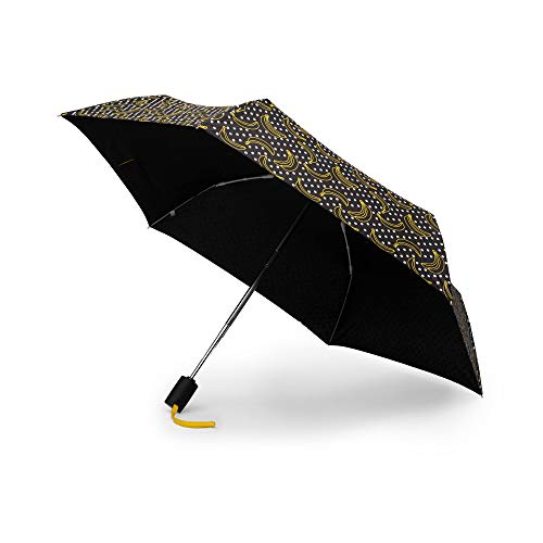 Kipling Umbrella Auto Open Banana Dot Mania