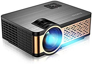 XIAOYA Mini Projector HD 720P with HiFi Speaker, 4000 Lumens Movie Projector Support 1080P Home Theater Projector,Compatible with HDMI, SD, AV, VGA, USB