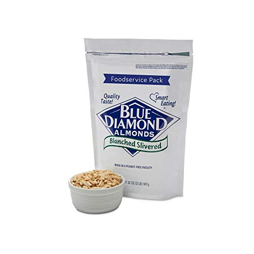 Blue Diamond Almonds Blanched Slivered, Foodservice Pack, 2 Pound