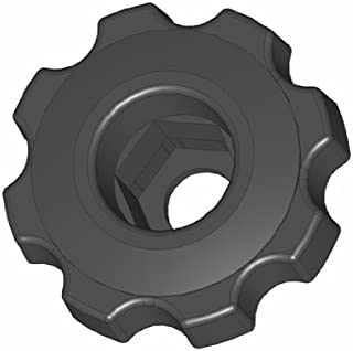 Pack of 10 Innovative Components AN4C-TR621 2.25 Rounded T Knob 1//4-20 steel zinc insert black pp