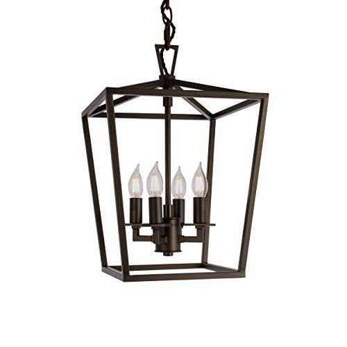 Norwell Lighting 1080-BR-NG CAGE Series Small (Bronze w/No Glass) (Pack of 1)